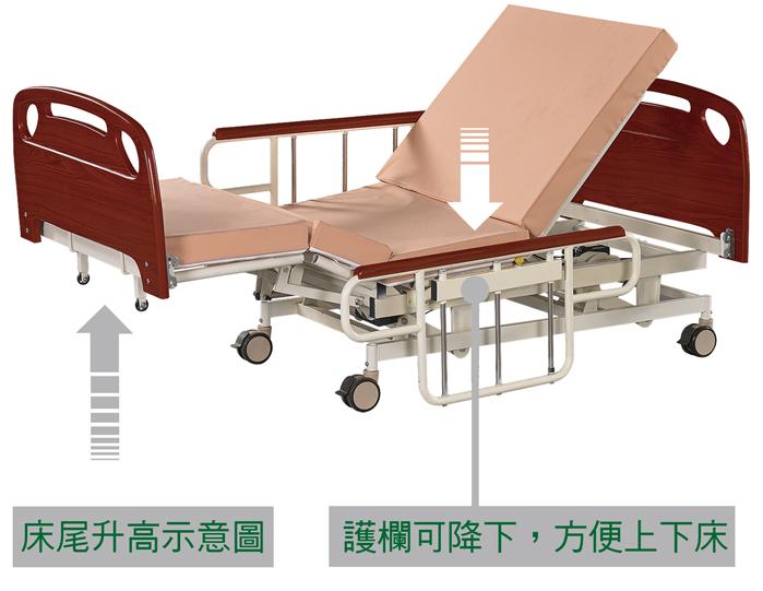 KU-8088 起身床(三馬達)_2